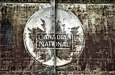 Photograph - Canadian National by Valerie Rosen