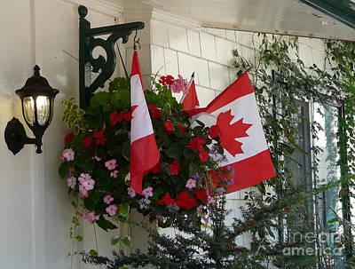 Photograph - Canadian Patriotism by Avis  Noelle