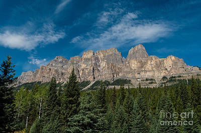 Canadian Rockies 2.0570 Art Print by Stephen Parker