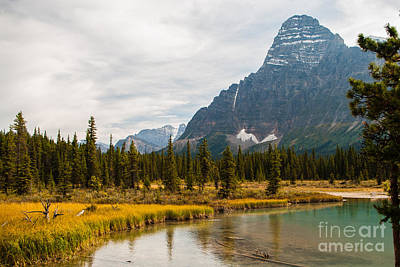 Canadian Rockies 2.0604 Art Print by Stephen Parker