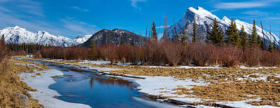 Photograph - Canadian Rockies In Early Spring by Levin Rodriguez