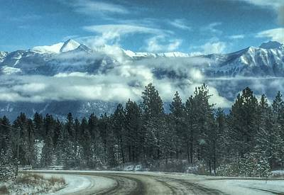 Photograph - Canadian Rockies by Pat Moore