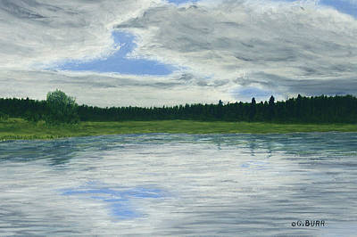 Pastel - Canadian Serenity by George Burr