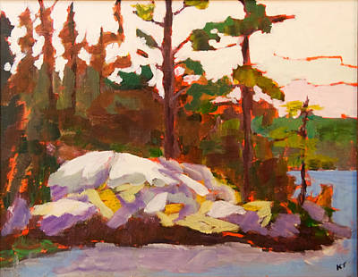 Canadian Shield Haliburton Art Print by Keith Thirgood