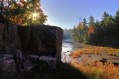 Photograph - Canadian Shield In Autumn by Jim Vance