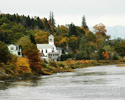Photograph - Canadian Town by Robert  Suggs