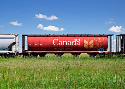 Photograph - Canadian Tracks by Keith Armstrong