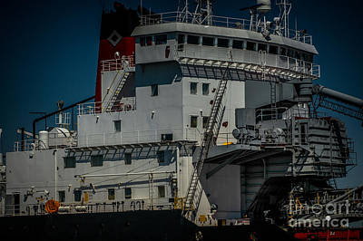 Photograph - Canadian Tranfer Pilot House by Ronald Grogan