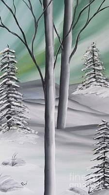 Canadian Winter Original by Beverly Livingstone