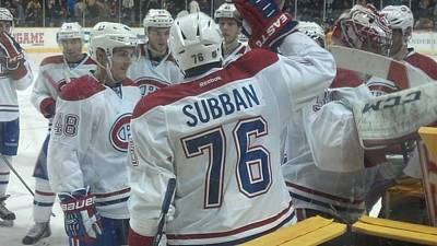 Photograph - Canadiens Win by Scott Decker