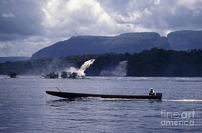Photograph - Canaima Lagoon Venezuela by John  Mitchell