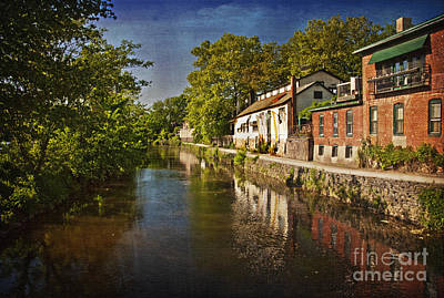 Canal Along The Porkyard Art Print