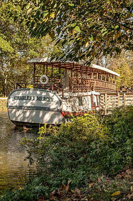 Photograph - Canal Boat by Sara Hudock