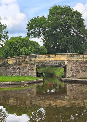 Photograph - Canal Bridge by Jane McIlroy