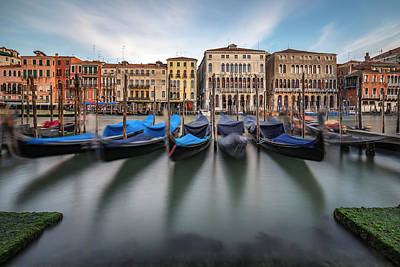 Boat House Photograph - Canal Grande by Alexander Sch?nberg