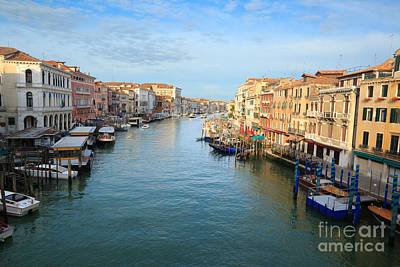 Canal Grande In Venice Art Print by Matteo Colombo