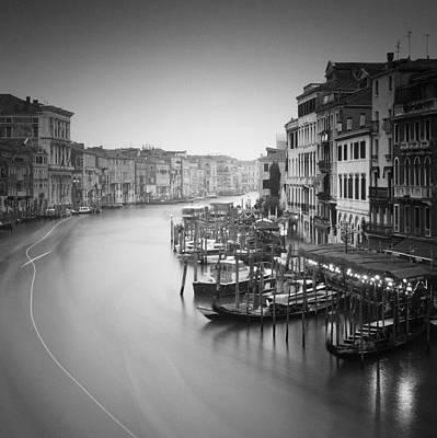 Canal Grande Study IIi Art Print by Nina Papiorek