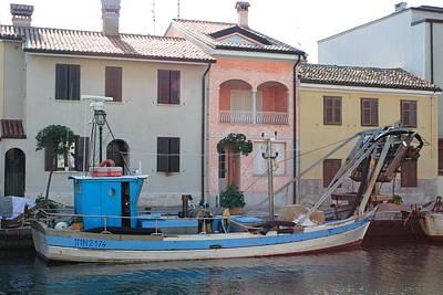 Vintage Movie Stars - Canal in Grado by Ulrich Kunst And Bettina Scheidulin