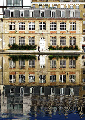 Saint-martin Photograph - Canal Reflection by Barb Gabay