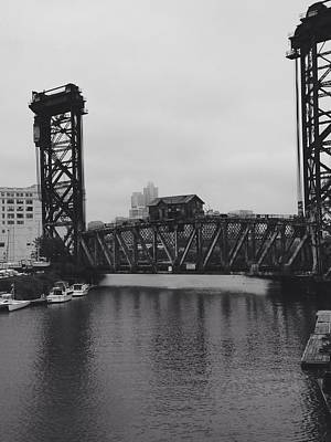 Chicago Photograph - Canal Street Bridge by Kathleen White