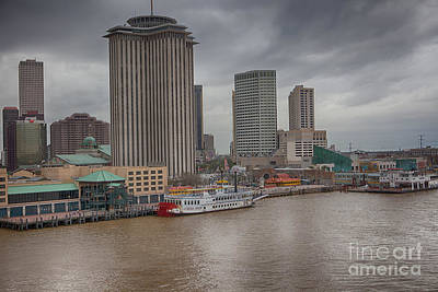 Photograph - Canal Street From The River by Kay Pickens