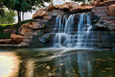Photograph - Canal Waterfall by Lana Trussell