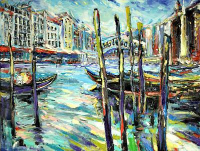 Canale Grande 1 Art Print