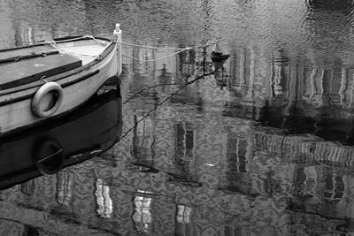 Dragons - Canale Grande di Trieste - monochrome by Ulrich Kunst And Bettina Scheidulin