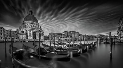 Palace Photograph - Canale Grande by Sven Kohnke