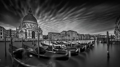 Venice Photograph - Canale Grande by Sven Kohnke