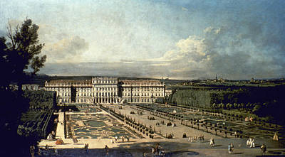 Viennese Painting - Canaletto Vienna, 1760 by Granger