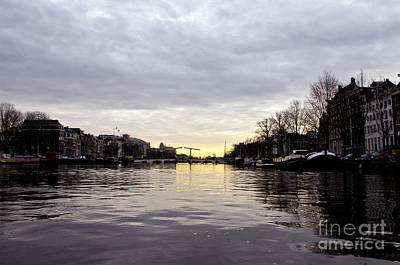 Canals Of Amsterdam Art Print by Pravine Chester