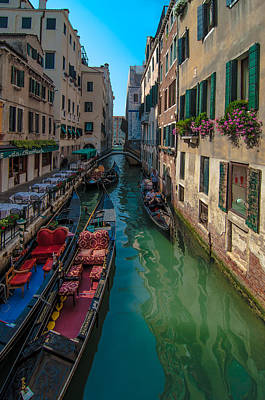 Royalty Free Images Photograph - Canals Of Venice  by Amel Dizdarevic