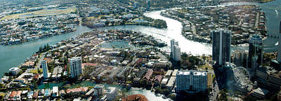 Photograph - Canals On The Gold Coast by David Rich
