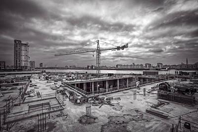 Photograph - Canary Wharf by Ian Good