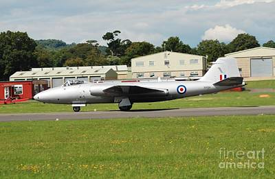 Photograph - Canberra Jet Bomber by David Fowler