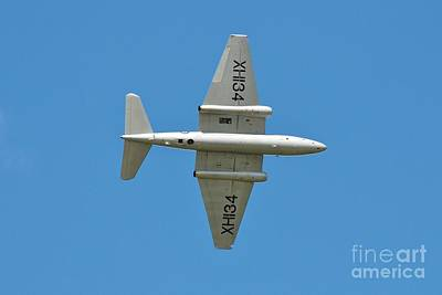 Photograph - Canberra Pr9 Bomber Jet by David Fowler