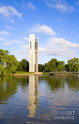 Canberra The Carillon Art Print by Colin and Linda McKie