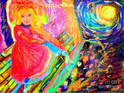 Cancan  Original by Debbie Davidsohn