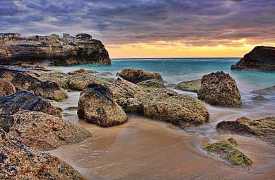 Shutters Photograph - Cancun Coastal Sunrise by Marcia Colelli