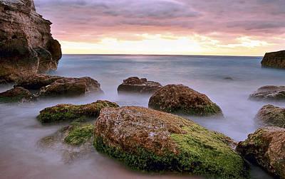 Moody Photograph - Cancun Sunrise by Marcia Colelli