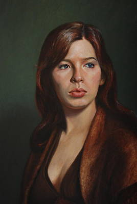 Character Portraits Painting - Candace by Dan Petrov