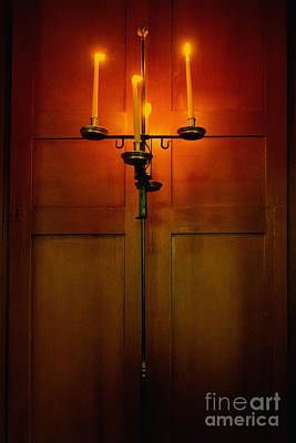 Candle Stand Photograph - Candelabra by Margie Hurwich