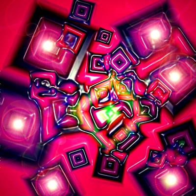 Digital Art - Candels by Dan Sheldon