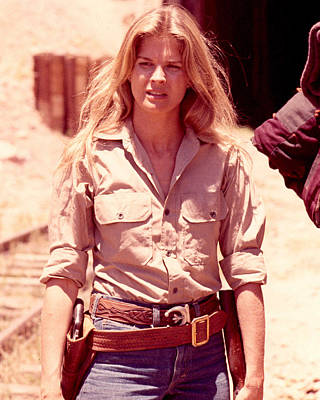 Hunting Party Photograph - Candice Bergen In The Hunting Party by Silver Screen