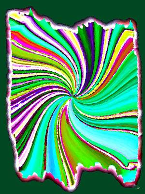 Digital Art - Candid Color 21 by Will Borden