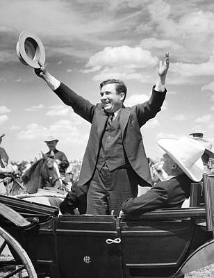 Candidate Wendell Willkie Art Print by Underwood Archives