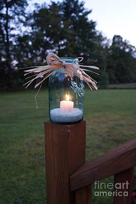 Photograph - Candle Glow by Kerri Mortenson