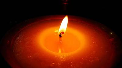 Photograph - Candle In Bodhgaya by Greg Holden