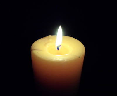 Photograph - Candle by Jenna Mengersen